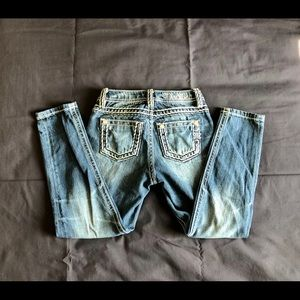 Miss Me Girls size 7 boyfriend ankle jeans